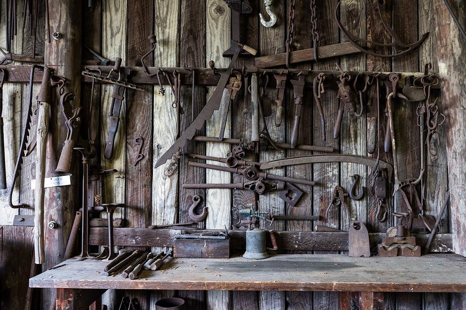 outils d'artisan d'art