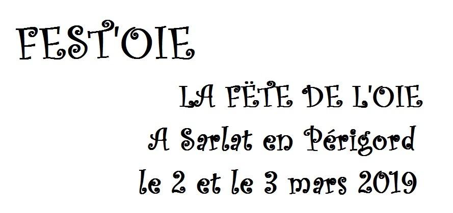 Fest'oie : la fête de l'oie à Sarlat, on y va !