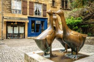 Statue des oies Sarlat