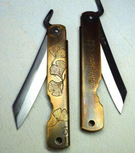 Couteau japonais de Mali Irié-Cros