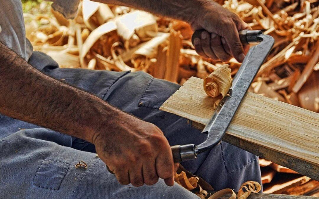 L'artisanat du travail du bois,