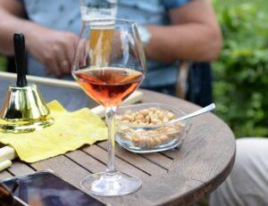 Vin rosé et apéritif