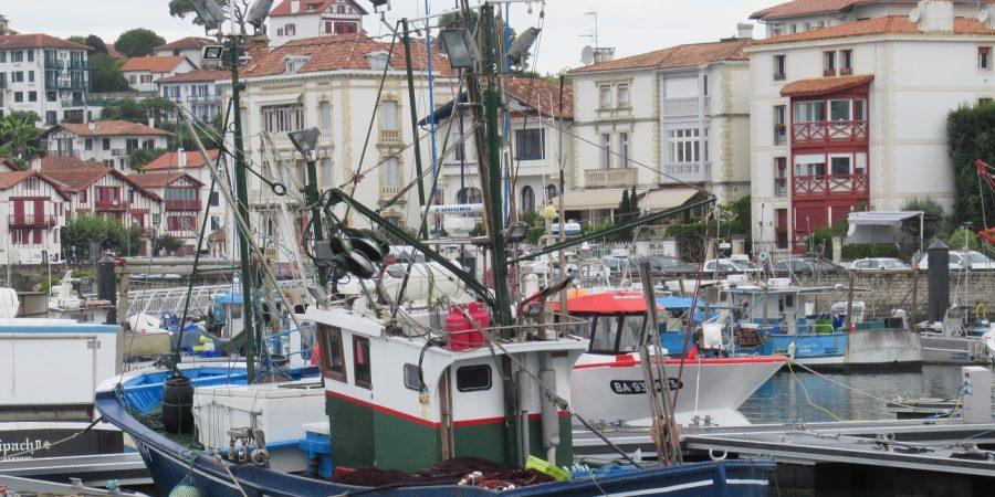 Port Ciboure, bateau de pêche