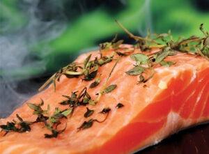 Saumon marinade-Plancha