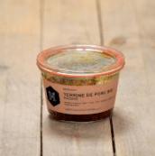 Terrine de porc aux raisins bio