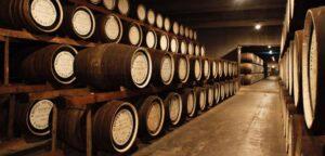 Chais à barriques chêne-Whiskies