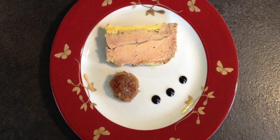 Une Belle assiette de Foie gras