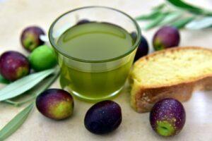 Fruits, huile d'olive
