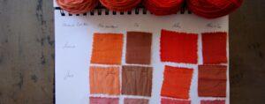 Tissus coloris Bio