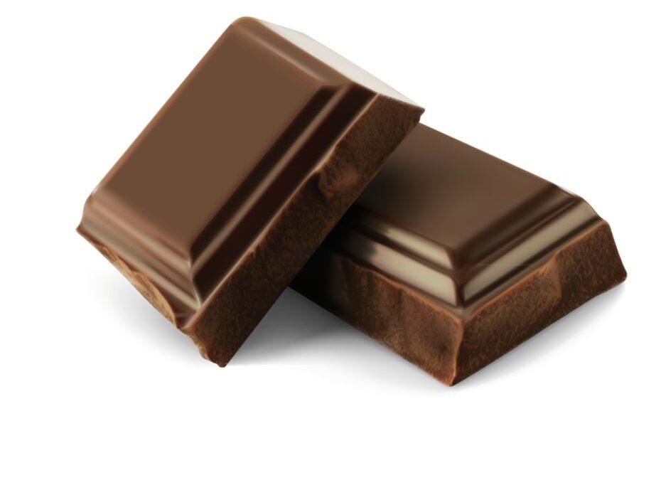 2 Carrés de chocolat