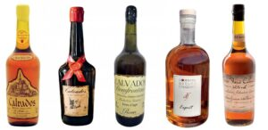 Bouteilles de Calvados