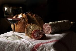 Beaujolais et cochonaille