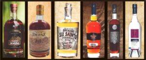 Les bouteilles de Rhum