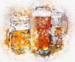 Art verre Bière de Provence,