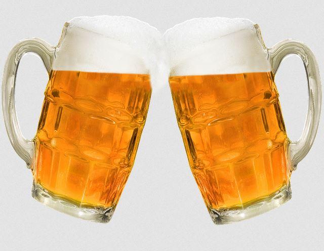 Choppe de bières artisanales