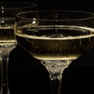 Verres de Champagne,
