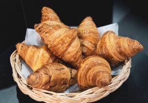 Panière de croissants,