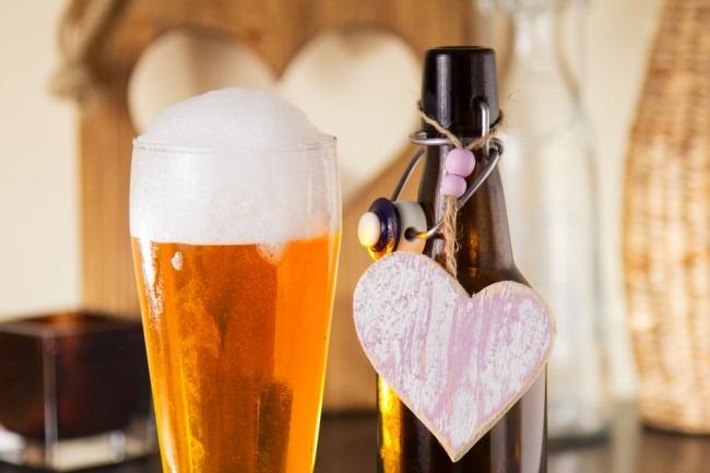 Les bières de la Sainte-Valentin