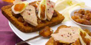 Assiette de foie gras,