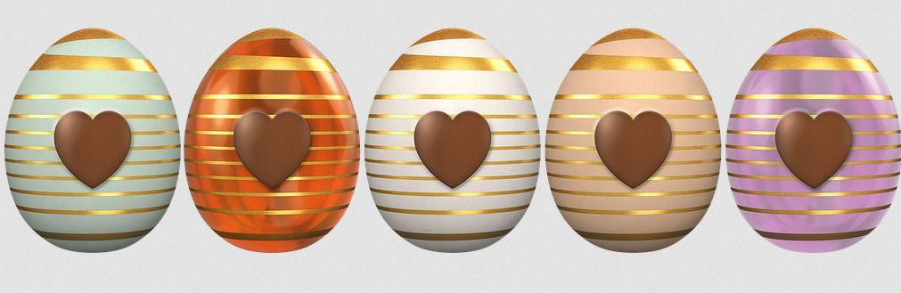 France et ses œufs de Pâques