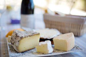 Plateau de fromages,