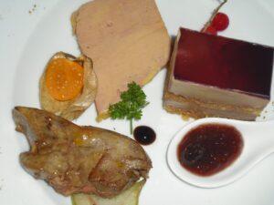 Un foie gras cuit,