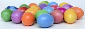 Les gourmandises, oeufs de Pâques,