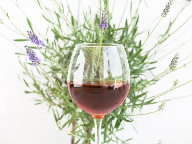 Verre à vin rouge Provence,
