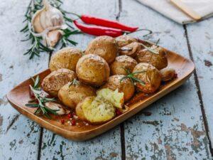 Assiette pommes de terre Noirmoutier,