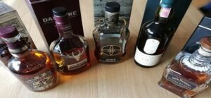 Bannière de bouteilles de Whiskies