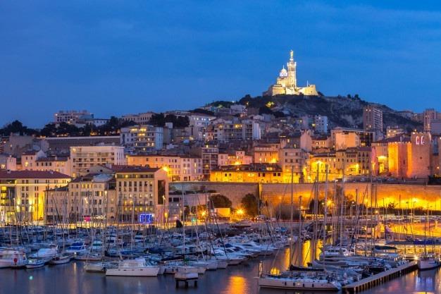Port de Marseille, la Nuit