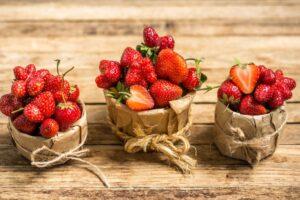 Panier de fraises,