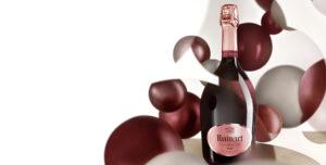Champagne Ruinart Rosé,