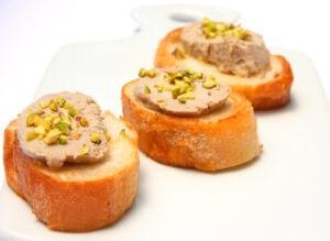 Mets foie gras,