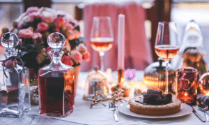 Tables Mets Rosé de Loire,