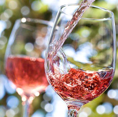 Verre Rosé de Bordeaux,
