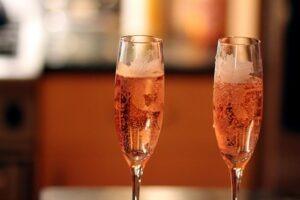 Coupe champagne Rosé,