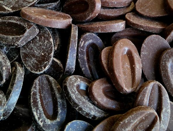 Chocolat noir de couverture Madagascar,