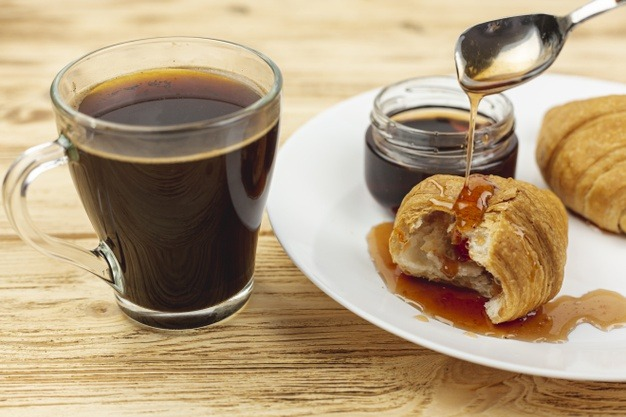 Café miel, vertus et recette