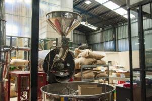 fabrication du café,