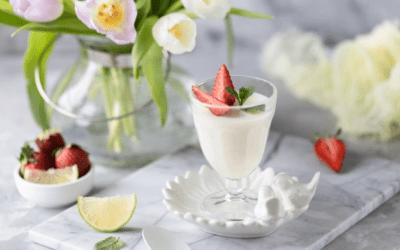Une recette de Nouvel An, la Panna Cotta à la vanille noire