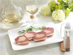 Dégustez un Magret de canard fourré au Foie gras,