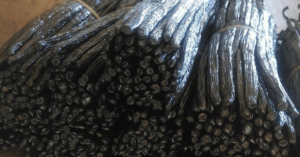 Gousse de vanille noire de Madagascar,
