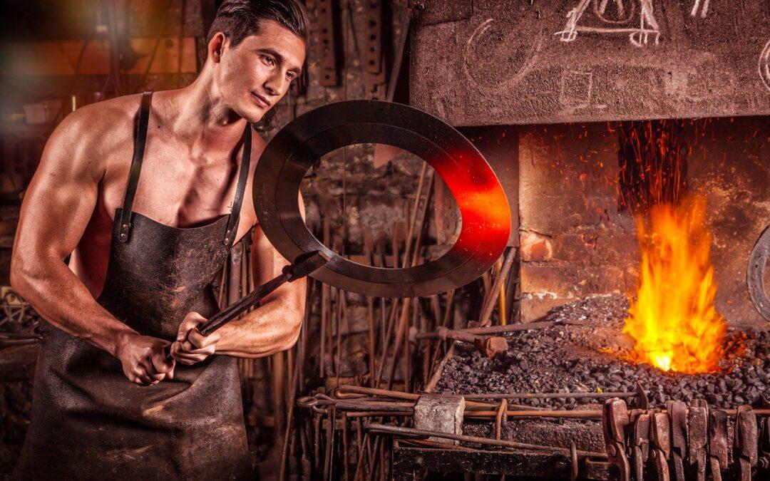 L'art de la forge ou la ferronnerie d'art