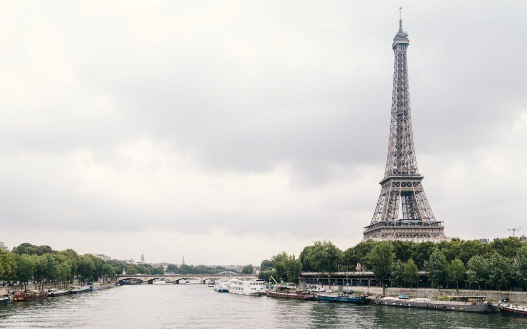 Paris le Fleuve La Seine,