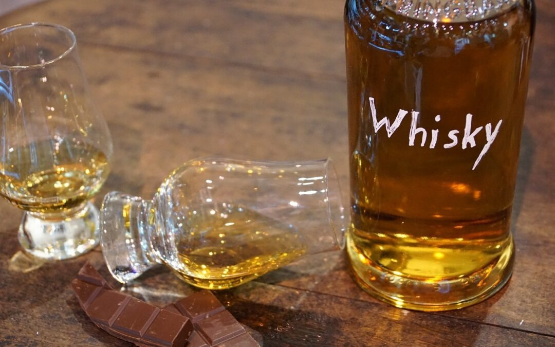 Dégustation d'un whisky Français,
