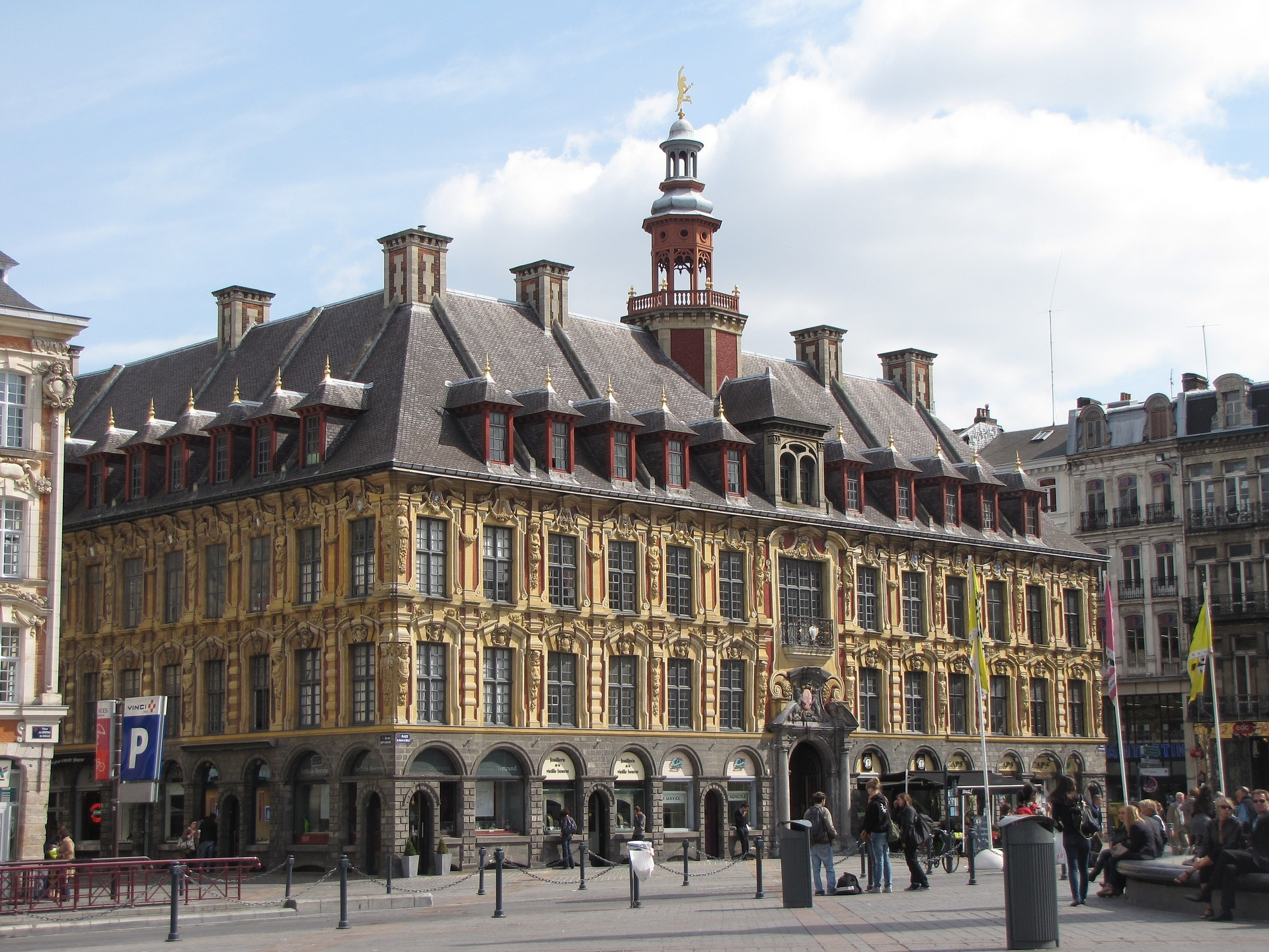 La région des Hauts de France Lille,