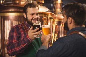 Artisan Brasseur de Lyon Bière Noire,