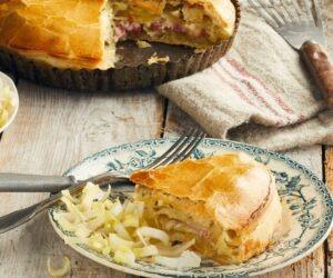 Le Bisteu une tourte de pommes de terre de Picardie,