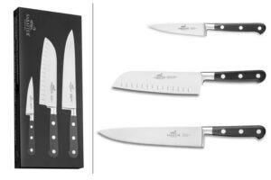 Coffret 3 couteaux de cuisine Sabatier,